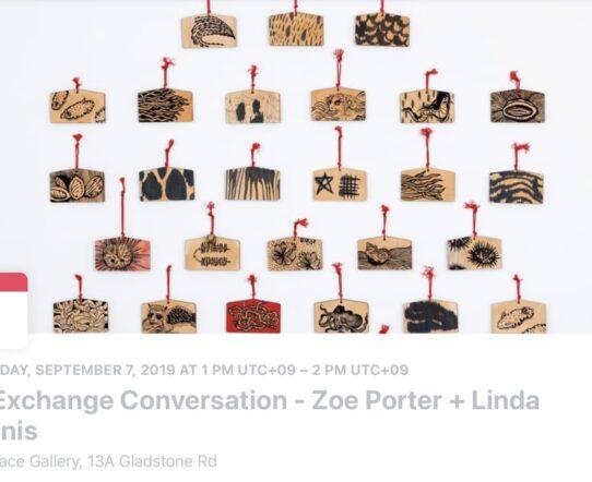 Zoe Porter Exhibition Press